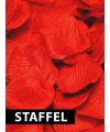 Voordeel pakket rozenblaadjes rood